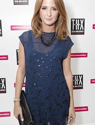 Millie Macintosh at  Tesco Total Hair Expert (THX) Launch party, Icetank Studios, London, 03.10.12