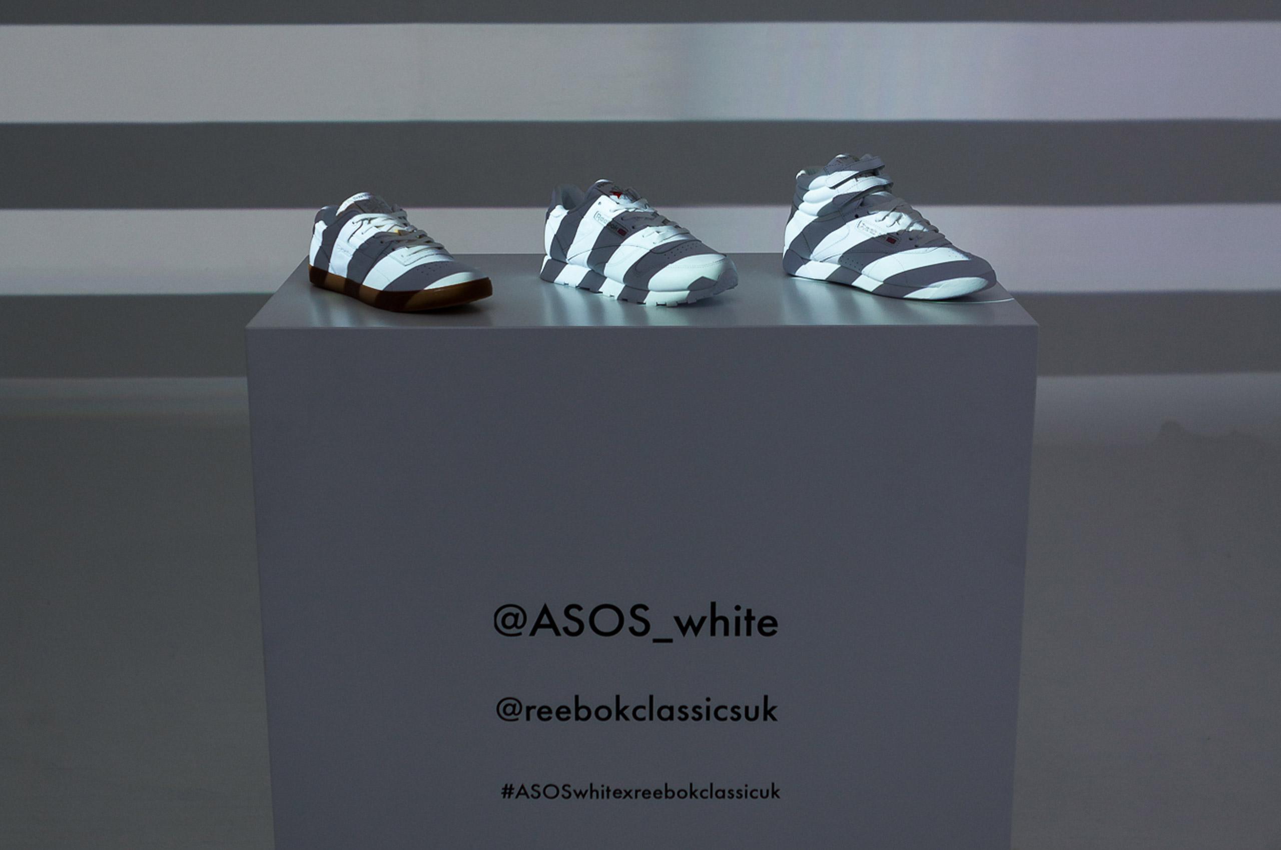 ASOS White X Reebok Classic Collaboration – Icetank Venue