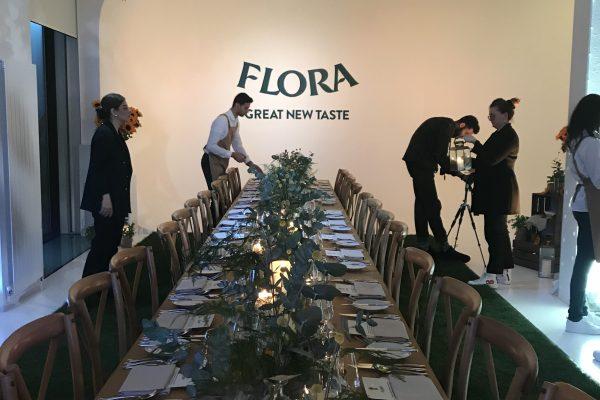 Flora Set up